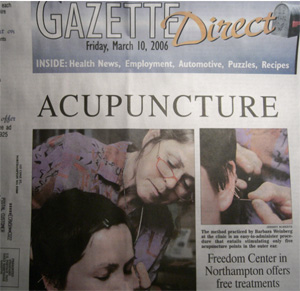 Gazette Acupuncture  Clinic Cover Story
